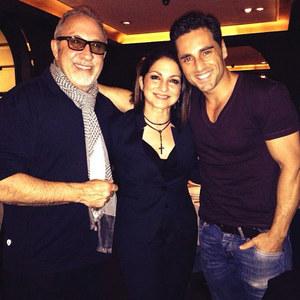 David Bustamante, Gloria y Emilio Estefan