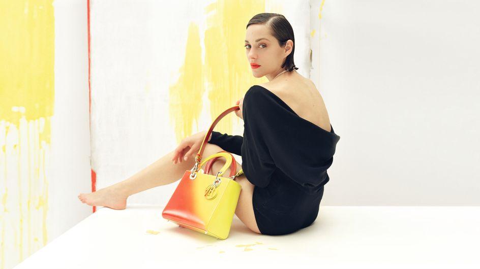 Marion Cotillard : Une nouvelle campagne pop pour Lady Dior (Photos)