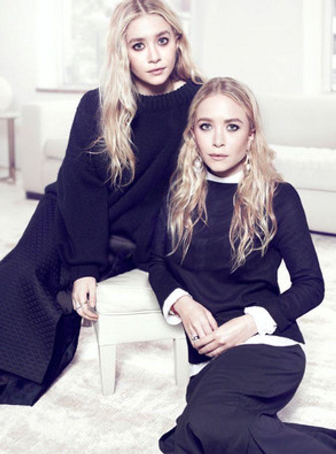 Les soeurs Olsen dans The Edit