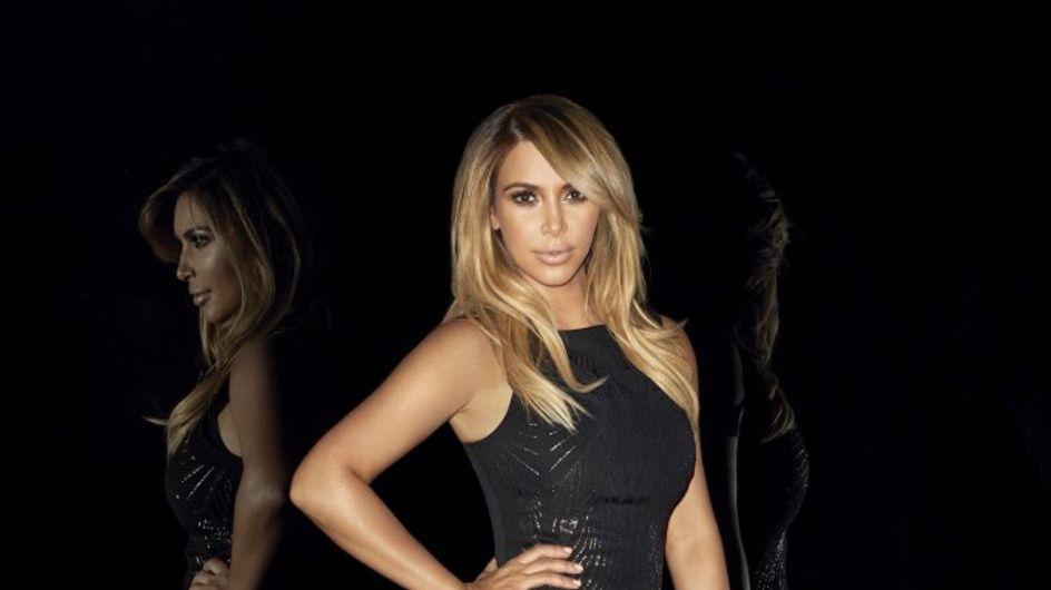 Kim Kardashian : Très amincie pour sa nouvelle campagne de pub (photos)