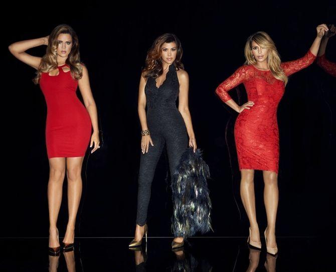 Les soeurs Kardashian pour Kardashian Kollection