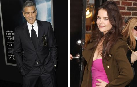 George Clooney e Katie Holmes