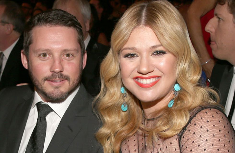 Kelly Clarkson weds longtime love Brandon Blackstock