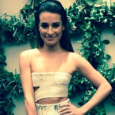 Grieving Lea Michele looks worryingly thin at Elle event