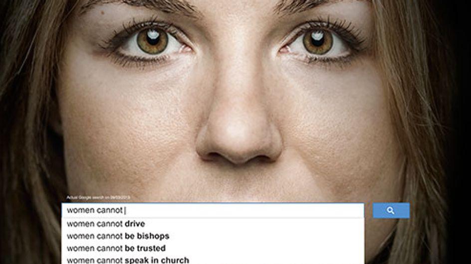 La ONU Mujeres muestra el sexismo en una impactante campaña publicitaria