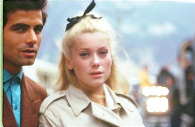 Catherine Deneuve dans Les Parapluies de Cherbourg (1963)