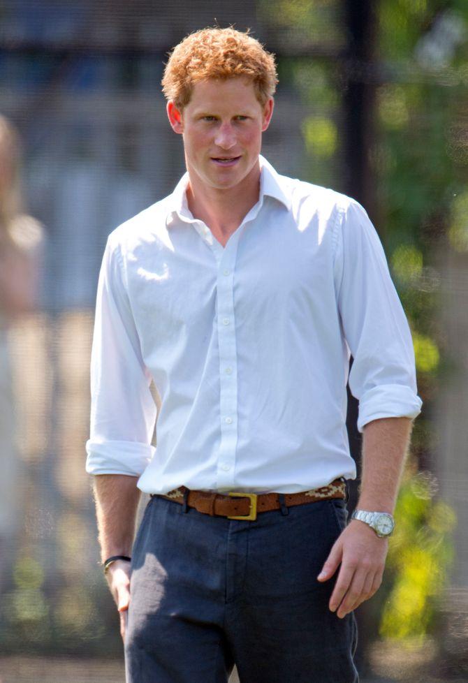 Le Prince Harry, fan de shampoing sec