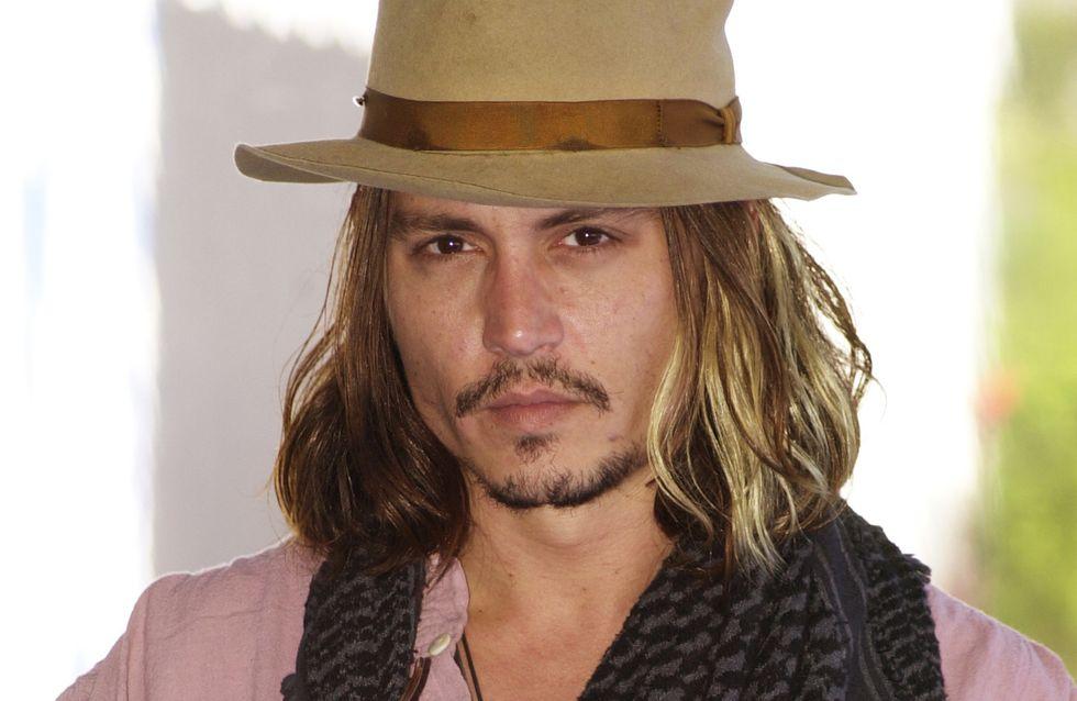Johnny Depp : Il est devenu blond !