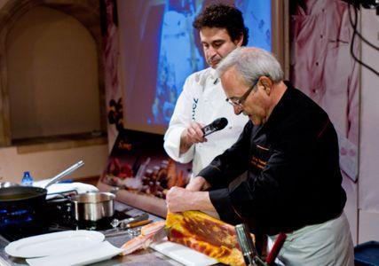 Los cocineros Carlos Pescador y Pepe Rodríguez