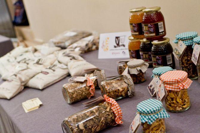Exposición de productos autóctonos de Soria