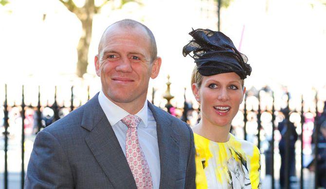 Zara Phillips et son mari