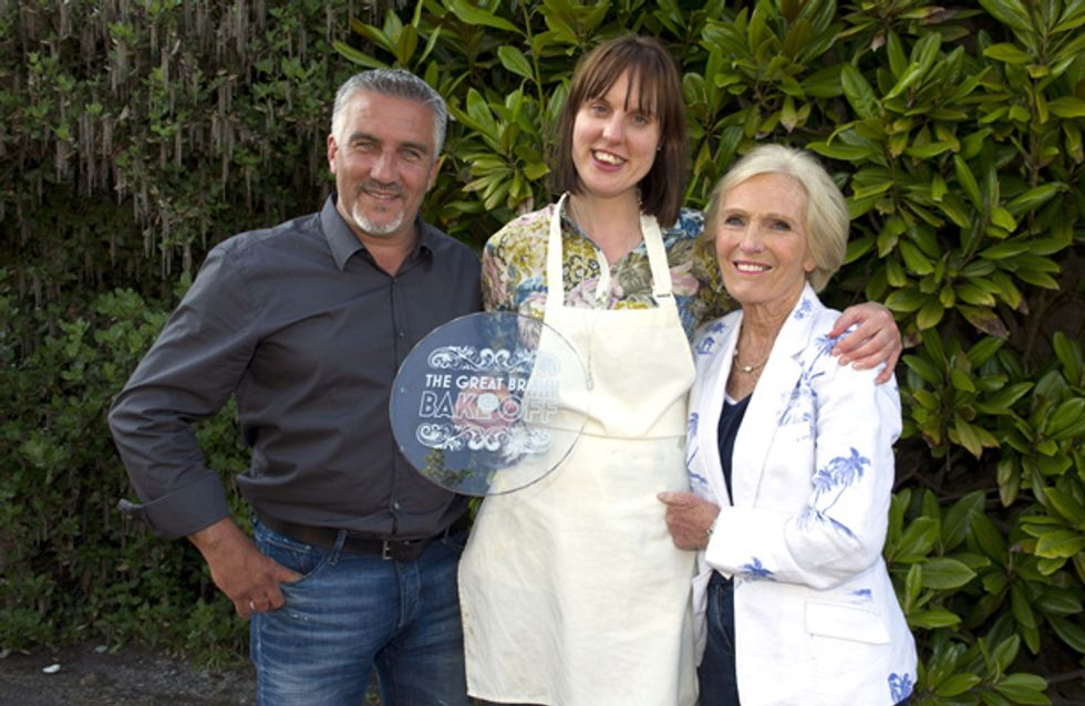 The Great British Bake Off 2013 winner is announced!