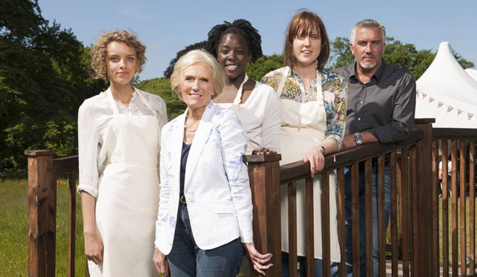 The Great British Bake Off gang