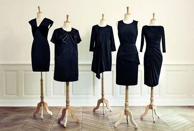 Collection capsule de robes noires ches Monoprix