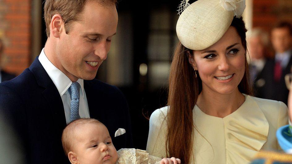 El príncipe Jorge es bautizado en una íntima ceremonia