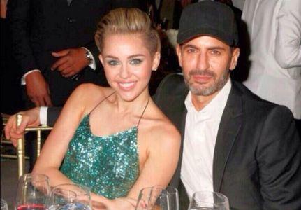 Miley Cyrus et Marc Jacobs