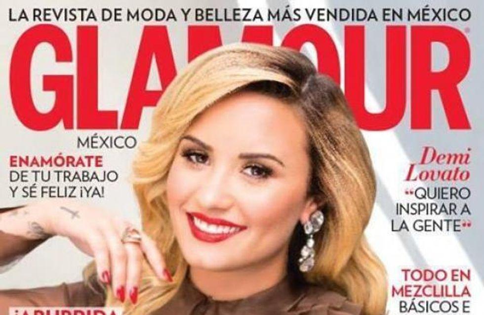 Demi Lovato, toujours aussi canon pour Glamour Mexique