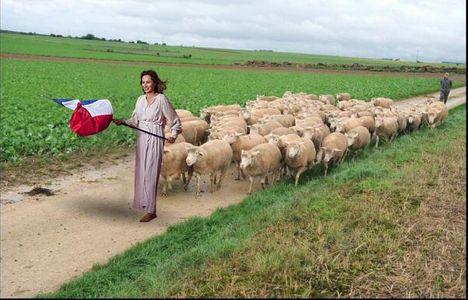 Ségolène Royal guidant le peuple : Les meilleures parodies