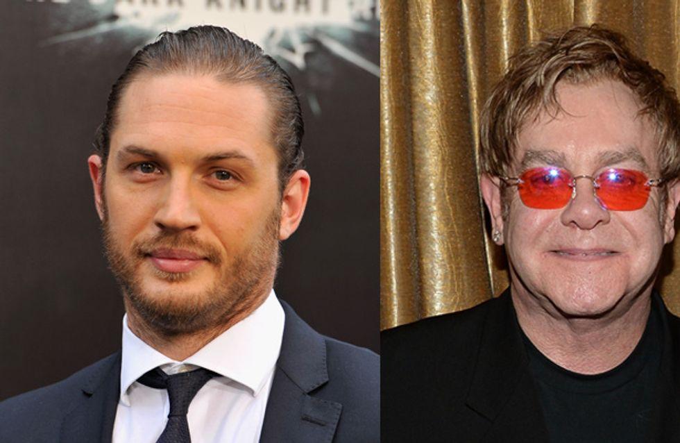Tom Hardy to play Elton John in Rocketman biopic
