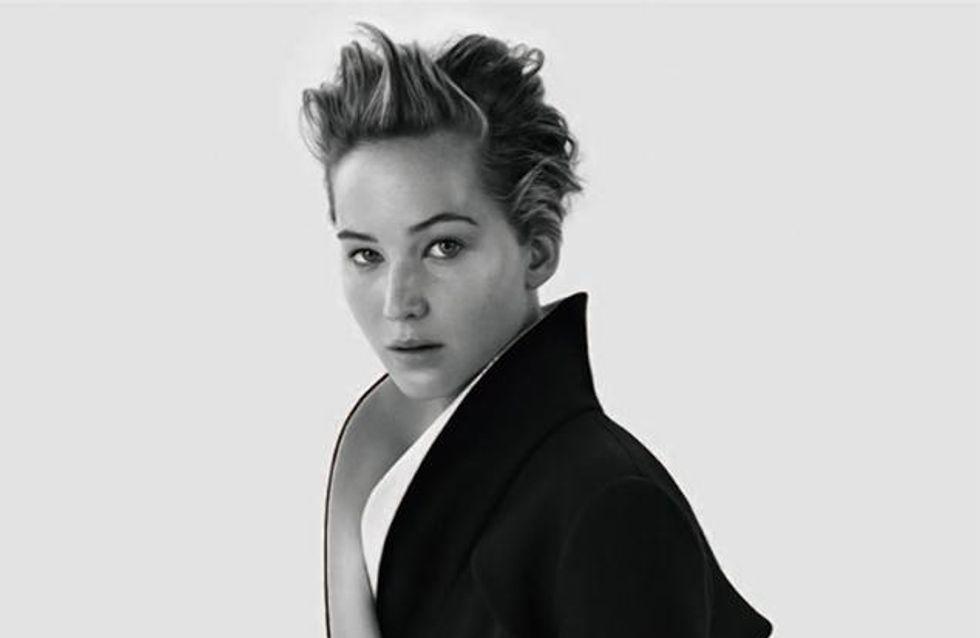 Jennifer Lawrence : Muse glamour pour Dior Magazine (photos)