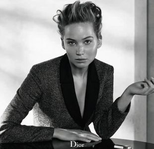 Jennifer Lawrence pour Dior Magazine