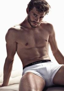 Jamie Dornan pour Calvin Klein