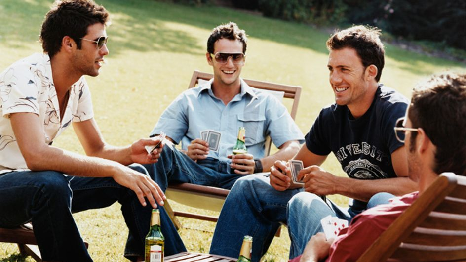 Men need to spend more time together - FACT