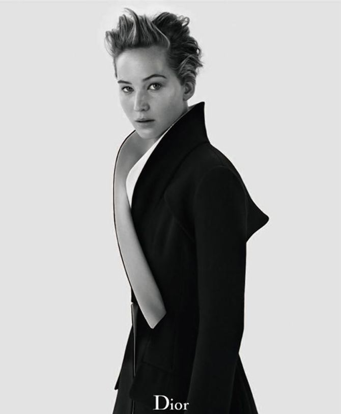 Jennifer Lawrence pour Dior Magazine