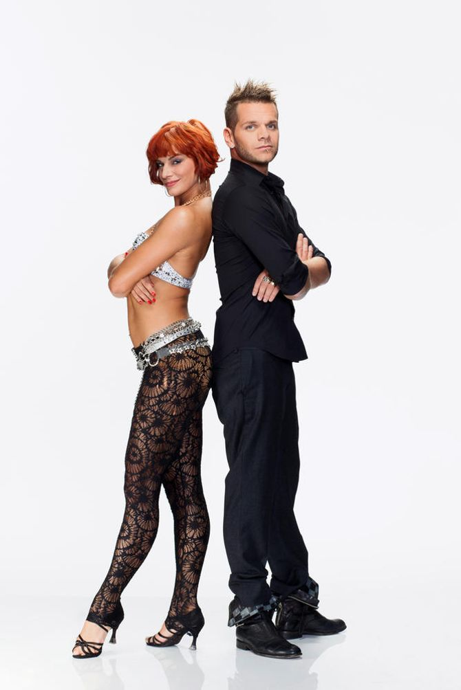 Keen'V et Fauve Hautot (Danse avec les stars)