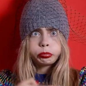 Cara Delevingne goofs around in her undies for Japanese fashion ad