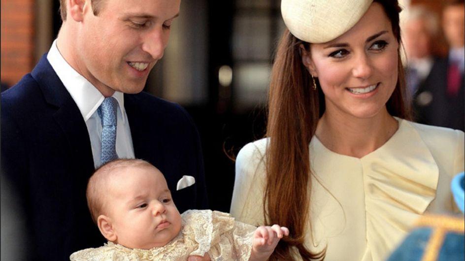 Kate Middleton : George, un vrai petit ange pour son baptême