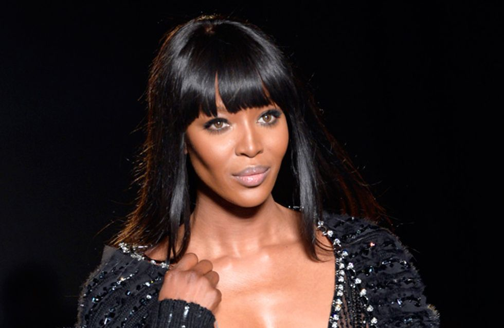 Naomi Campbell breaks down on Jonathan Ross show