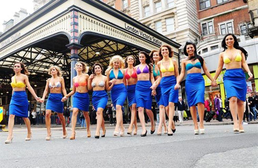 Ryanair : Les hôtesses de la compagnie dévoilent leur calendrier 2014 (Photos)