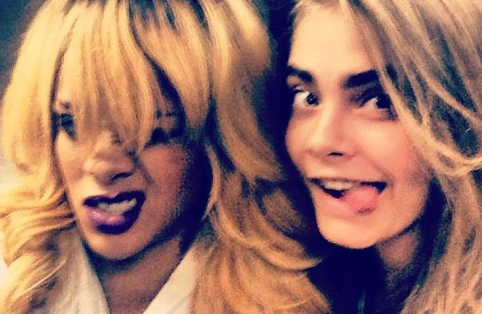 Rihanna et Cara Delevingne, bientôt en coloc !
