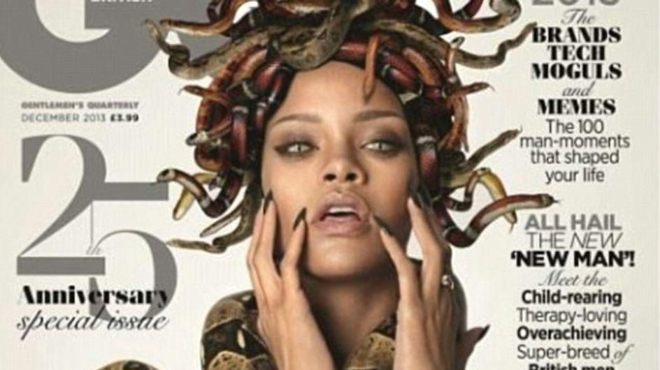 Rihanna : Femme serpent mystique pour GQ (photos)