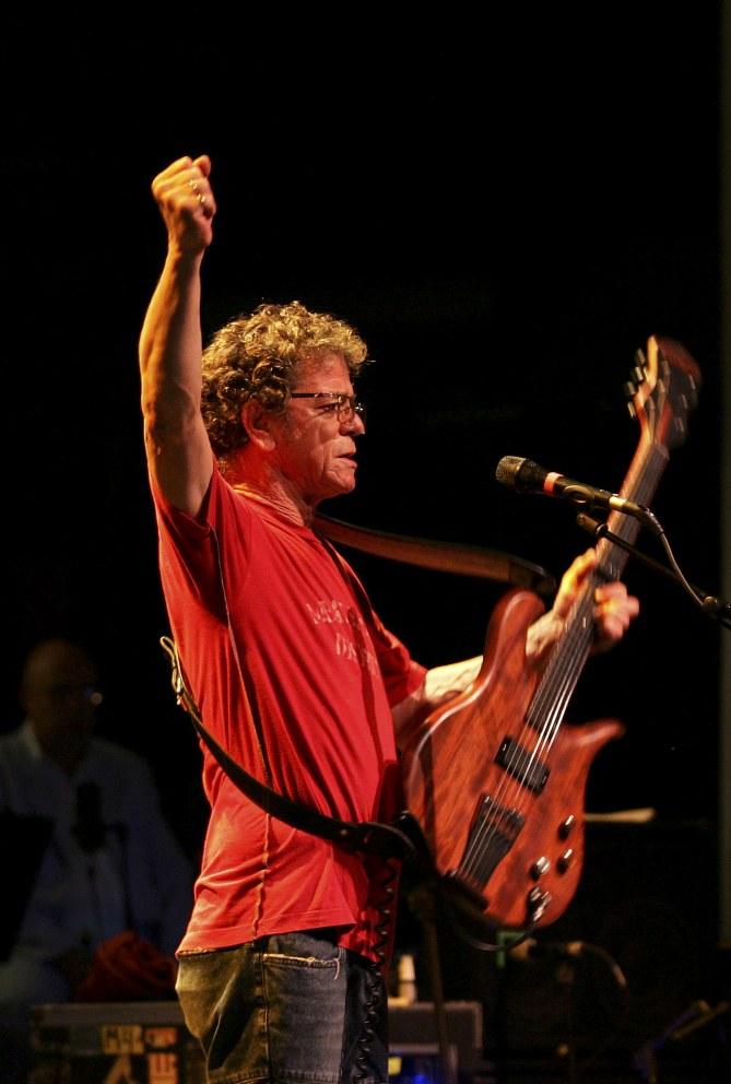 Lou Reed en uno de sus concierto en España (Málaga)