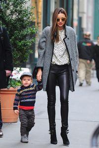 Miranda Kerr and son Flynn