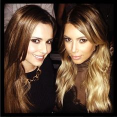Cheryl Cole flies to LA to hang out with Kim Kardashian