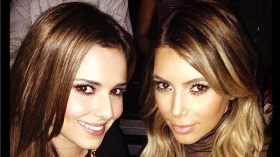 Cheryl Cole flies to LA to hang out with Kim Kardashian