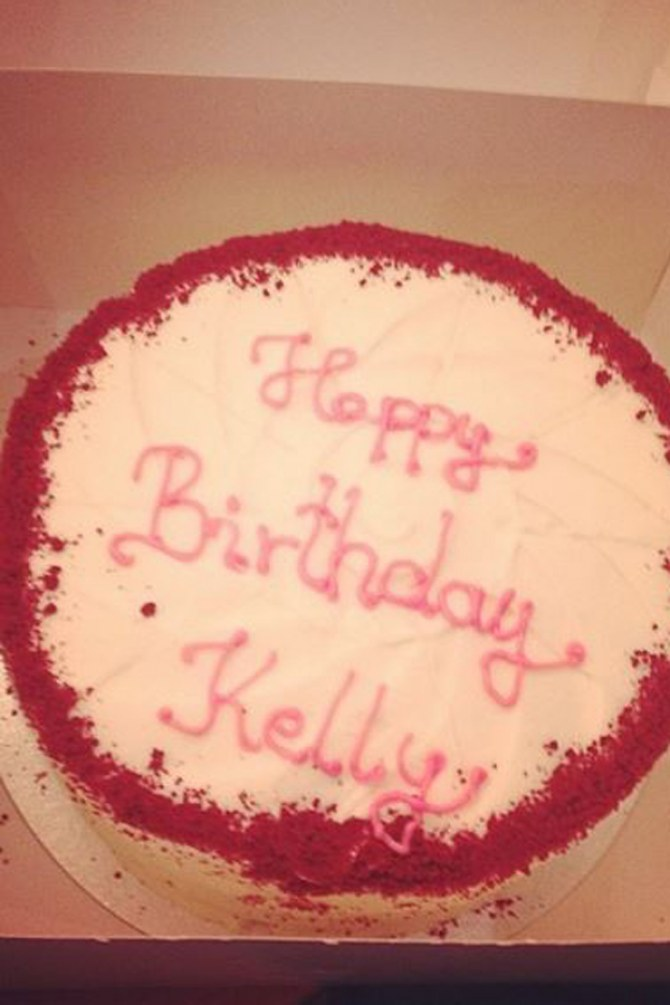 Kelly Osbourne's Cake