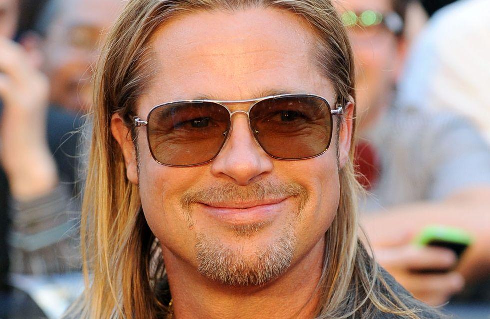 Brad Pitt : Fâché avec le savon ?