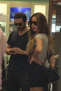 Nina Moric e l'ex marito Massimiliano Dossi
