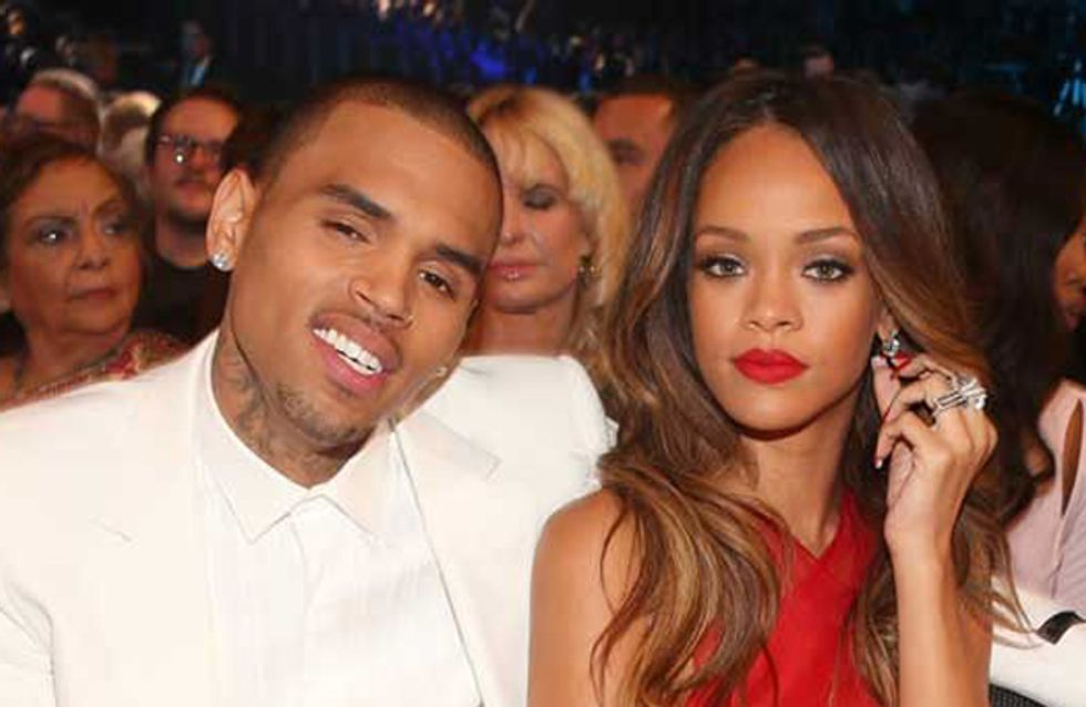 "Rihanna thinks Chris Brown is ""self-destructing"" after he's arrested for assault"
