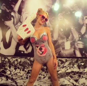 Paris Hilton Halloween 2013