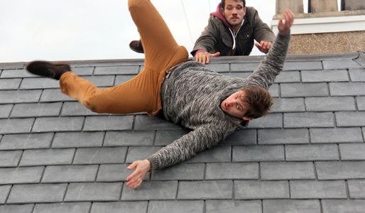 Will tumbles from the roof