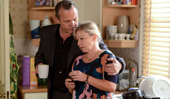 Carol is devastated about Michael