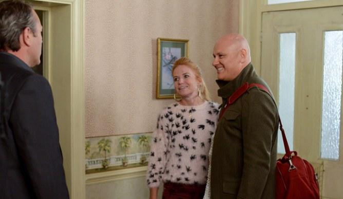 David is shocked to meet Bianca's new man