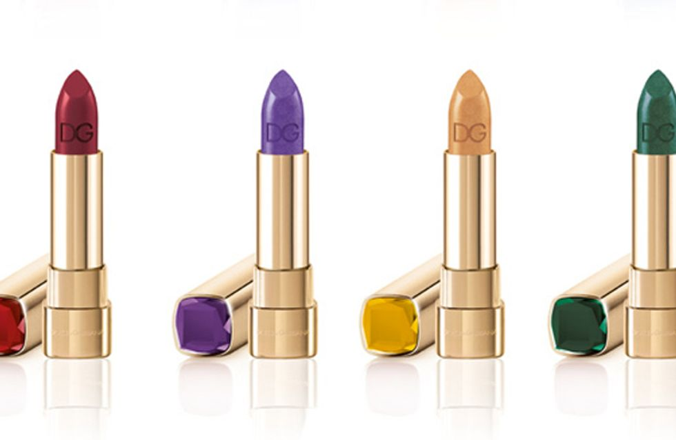 Halloween make-up: Dolce and Gabbana launch Sicilian Jewels lipstick
