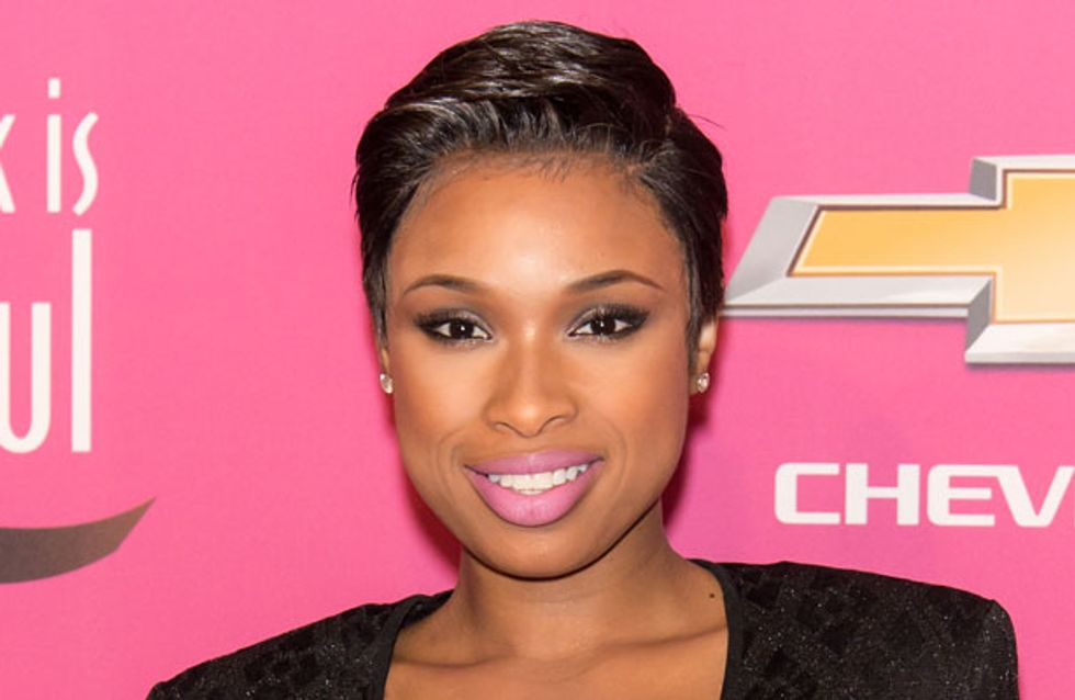 Jennifer Hudson debuts new pixie crop