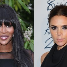 Naomi Campbell and Victoria Beckham in fashion feud